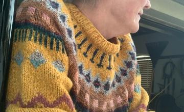 Knitting the Marshland Sweater