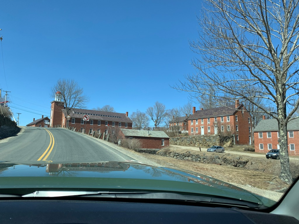 Historic Harrisville, NH mill buildings
