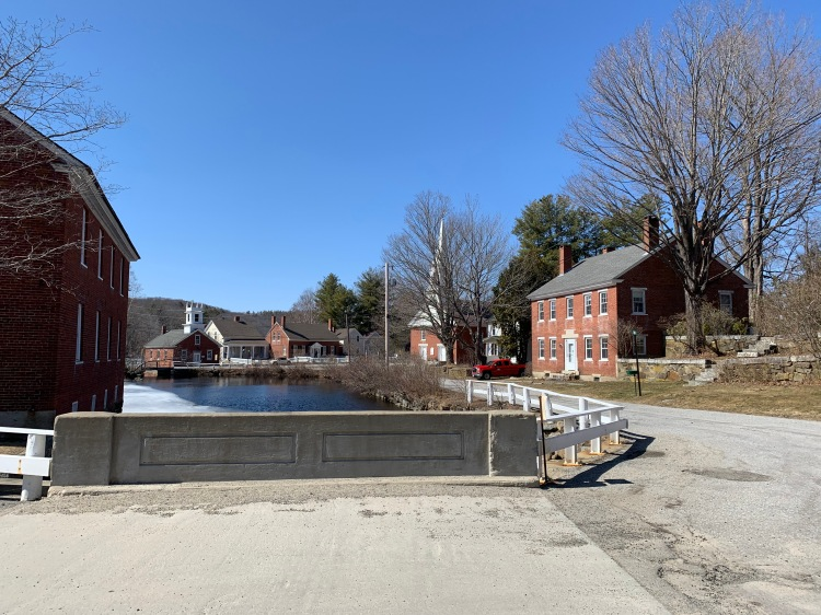 Center of town, Harrisville New Hampshire