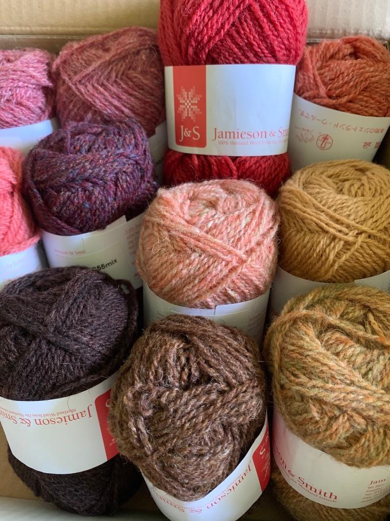 wool yarn Jamieson & Smith