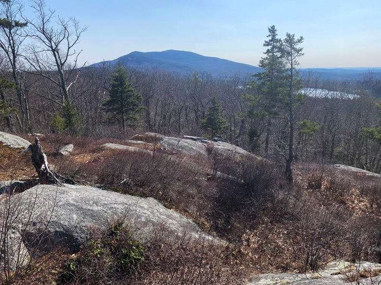 Hike with a view of Mt. Monadnock