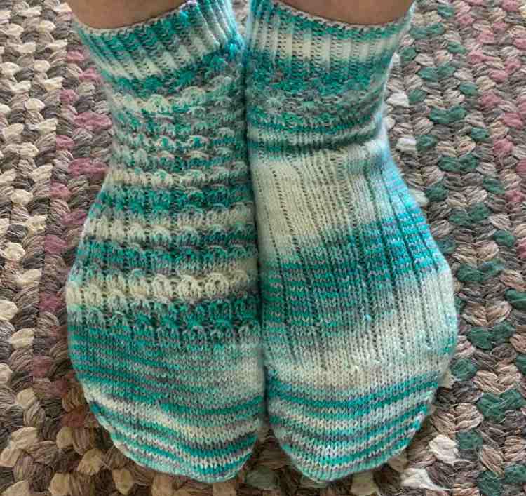 Shell cottage socks ankle