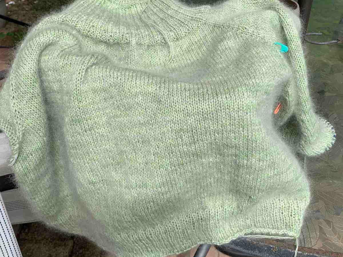 calliope pattern sweater knitting