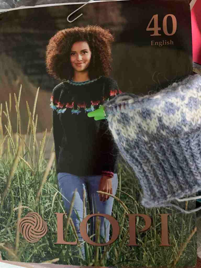 Lopi 40 book of knitting patterns
